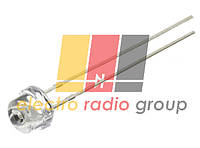 Светодиод   УФ  5мм (ультрафиолетовый) 100мКд короткий FYL-4813VC