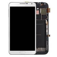 Дисплей Samsung N900 N9005 Note3 4G с белым сенсором