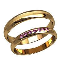 Обручальные кольца арт. 20005