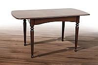 Стол обеденный Поло, темный орех 1030(+340)*740мм раскладной