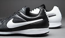 Сороконожки Nike TIEMPO GENIO LEATHER TF 631284-010 (Оригинал), фото 2