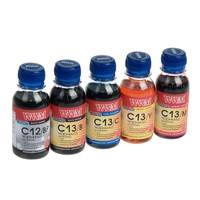 Комплект чернил WWM для Canon PGI-520/CLI-521 (5 х 100г) BP/B/C/M/Y Водорастворимые, Пигментные (5шт х 100г)