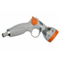 Пистолет-распылитель металлический, плавная регулировка Verano, 7- позиционный