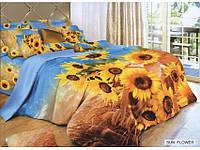Постельное белье Arya Сатин Печатное 2 Сп. 200Х220 (Нав. 70Х70) Sun Flower