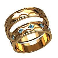 Обручальные кольца арт. 20006
