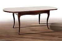 Стол обеденный Твист, темный орех 1260(+340)*810мм раскладной