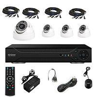 Комплект видеонаблюдения IN DOOR KIT, комплект видеонаблюдение для дома, комплект внутреннего видеонаблюдения