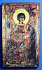 Святой великомученик Георгий Победоносец. Олеография. Размер 120*210