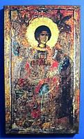 Святой великомученик Георгий Победоносец. Олеография. Размер 120*210, фото 1