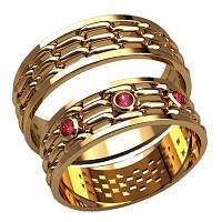 Обручальные кольца арт. 20007