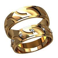 Обручальные кольца арт. 20009