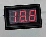 """Вольтметр DC 0-100V;  0,56""""  красный"""