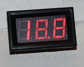 """Вольтметр DC 0-100V 0,56"""" красный"""
