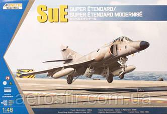 Сборная модель самолета Super Etendard 1\48 Kinetic