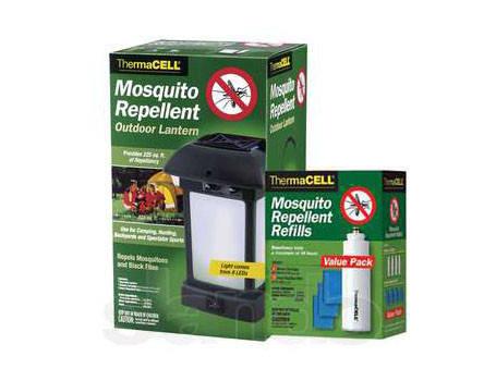 НАБОР ThermaCELL (фонарь+расходники, 15 пластин) от комаров и мошек, фото 2
