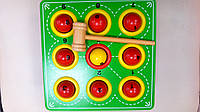 Деревянная развивающая игра - молоток
