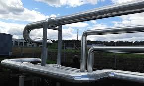 K-FLEX ST AL CLAD, теплоизоляция для труб с алюминизированным покрытием, каучук, d 114мм х толщина 9 мм - СКФ УКРСТК в Киеве