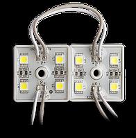 Светодиодный модуль SMD5050/4 белый