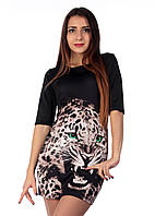 """Платье женское с принтом """"Леопард"""", фото 1"""