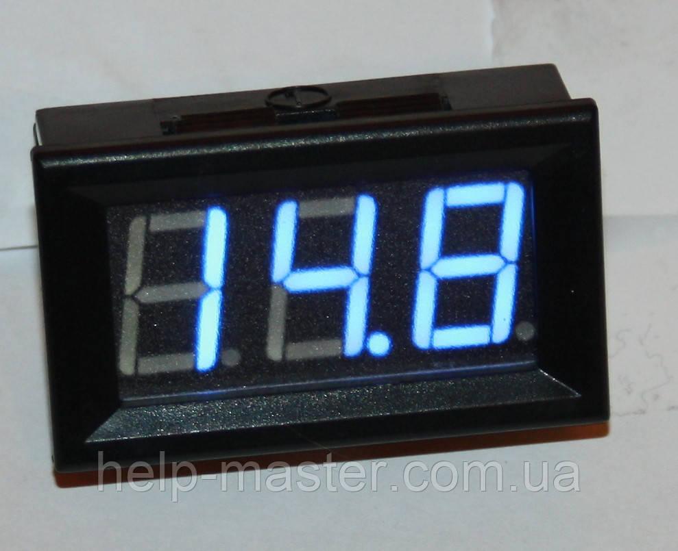 "Вольтметр DC 0-200V;  0,56""  голубой"