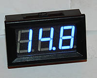 "Вольтметр DC 0-100V;  0,56""  голубой"