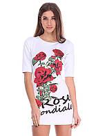 """Платье женское с принтом """"Rose Mondiale"""", фото 1"""