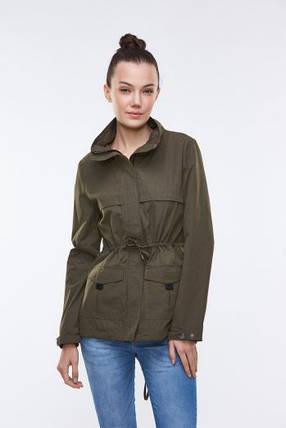 Парка-куртка женская Glo-story в цвете хаки, фото 2