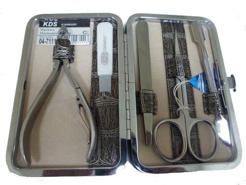 Маникюрный набор из 5 предметов KDS 4-7111 serebro