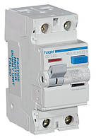 Hager CD264J ПЗВ 2x63A, 30 mA, AC, 2м