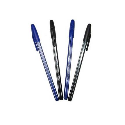 Шариковая ручка Aihao АН-555А-1-0101, черная, фото 2