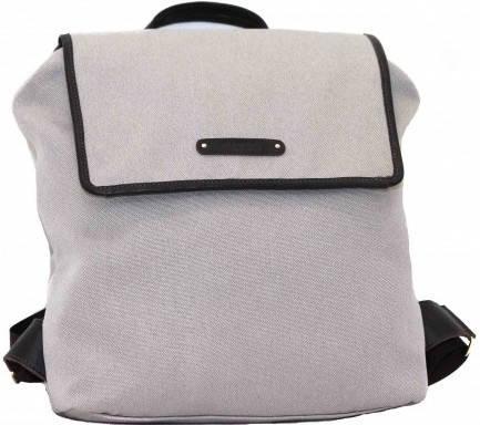 Женский стильный городской рюкзак из натурального хлопка 8 л. Mт26Man04Kaz400, бежевый