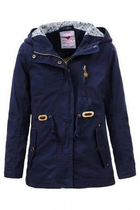 Осенняя куртка-парка для девочки GLO-Story GFY-1020 А, фото 2