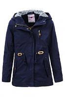 Осенняя куртка-парка для девочки GLO-Story GFY-1020 А