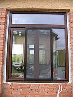 Раздвижные москитные сетки на окна и двери.