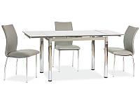 Стеклянный стол Signal GD-018 серый