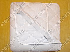 Наматрасник с хлопковым волокном 160х200 с резинками по углам, фото 3