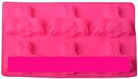 🔥✅ Форма силиконовая Empire ЕМ 7159 коты 6 штук формочка для выпекания кексов
