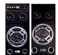 Профессиональные колонки T-USB FM 219A, профессиональные акустические колонки, музыкальные мощные колонки