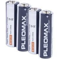 Батарейка PLEOMAX R 6 блистер  1x4 шт.