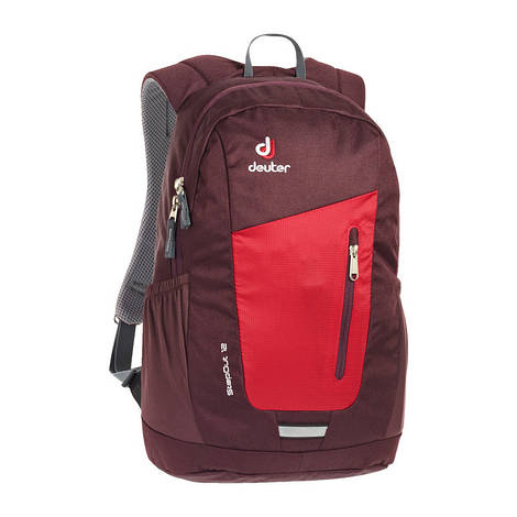 Городской рюкзак Deuter StepOut 12 fire/aubergine (3810215 5513)