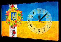 Часы на холсте 30 х 53 см UA2