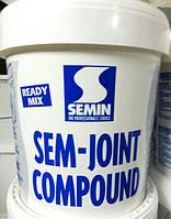 Шпаклёвка акриловая готовая Semin Sem Joint Compound (Семин Сем Джоинт) 25 кг.