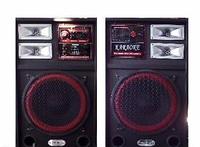 Профессиональные колонки T-USB FM 1112, музыкальные мощные колонки With USB/SD/FM /Karaoke/EQ/guitar input