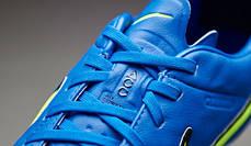 Бутсы Nike Tiempo Legend V FG 631518-470 Синие найк темпо (Оригинал), фото 2