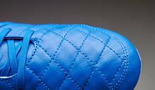 Бутсы Nike Tiempo Legend V FG 631518-470 Синие найк темпо (Оригинал), фото 3