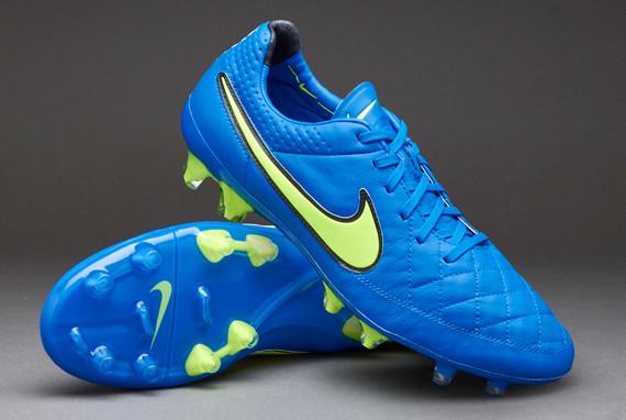 Бутсы Nike Tiempo Legend V FG 631518-470 Синие найк темпо (Оригинал)