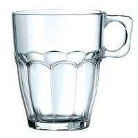 "Чашка (стекло) 330мл BORMIOLI ROCCO ""rock bar"" 186600BN"