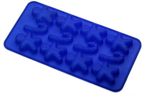 Форма силиконовая Empire ЕМ 7150 для изготовления шоколадных конфет и льда 12 шт 20*12*2 см