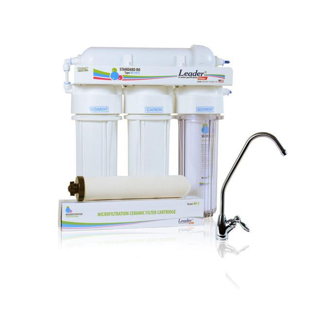 проточный фильтр очистки воды Leader
