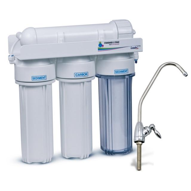 проточный фильтр для воды Leader